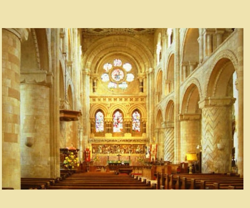 Anglo Saxon Waltham Abbey